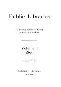 Public Libraries Book