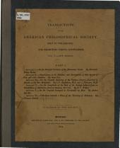 Collections Towards a Flora of the Territory of Arkansas