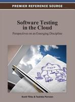 Software Testing in the Cloud  Perspectives on an Emerging Discipline PDF
