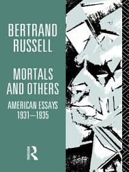Mortals And Others Book PDF