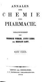 Annalen der Pharmacie: Volume 129
