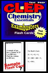 CLEP Chemistry Test Prep Review--Exambusters Flash Cards: CLEP Exam Study Guide
