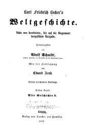 Karl Friedrich Becker's Weltgeschichte: Bände 1-2