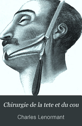 Chirurgie de la tete et du cou