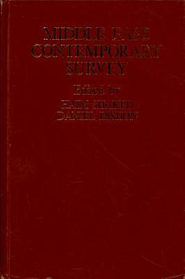 Middle East Contemporary Survey  Vol  8  1983 84 PDF