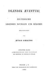 Bd. Anmerkungen und Glossar, mit Beiträgen von Reinhold Köhler