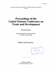 Proceedings of the United Nations Conference on Trade and Development PDF