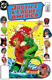Justice League of America (1960-) #242