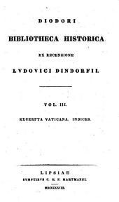 Diodori Bibliotheca historica: Volume 3