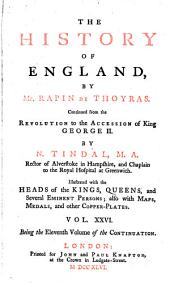 The History of England: Volume 26