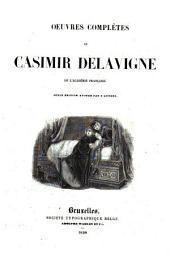 Oeuvres complètes de Casimir Delavigne
