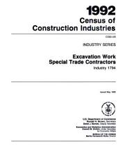 1992 Census of Construction Industries: Industry series. Painting and paper hanging special trade contractors, industry 1721