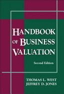 Handbook of Business Valuation