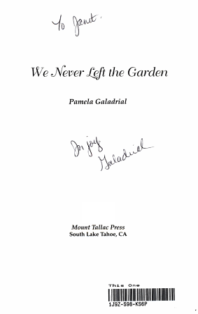We Never Left the Garden PDF