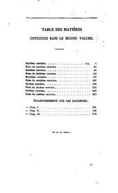 Oeuvres posthumes du comte Joseph de Maistre: Volume8