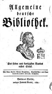 Allgemeine deutsche Bibliothek: Band 57