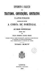 Supplemento A Colleccao dos Tratados, Convencoes, Contratos