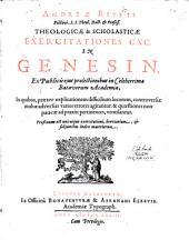 Theologicae et scholasticae exercitationes CXC in Genesin