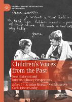 Children   s Voices from the Past PDF