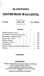 Blackwood's Edinburgh Magazine: Volume 33