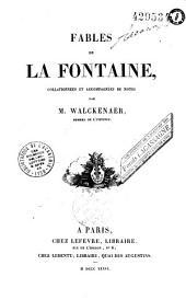 Fables de La Fontaine, collationnées et annotées