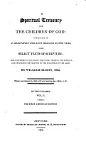 A Spiritual Treasury for the Children of God PDF