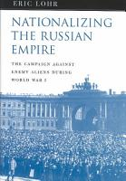 Nationalizing the Russian Empire PDF
