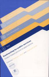 Contracting for Public Services: Output-based Aid and Its Applications