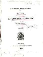 Bulletin de la Commission centrale de statistique