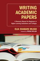 Writing Academic Papers PDF