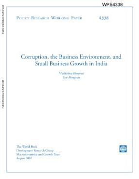corruption  the business environment  and small business growth in india PDF