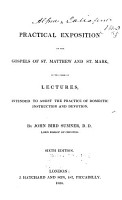 A Practical Exposition of the Gospels of St  Matthew and St  Mark PDF