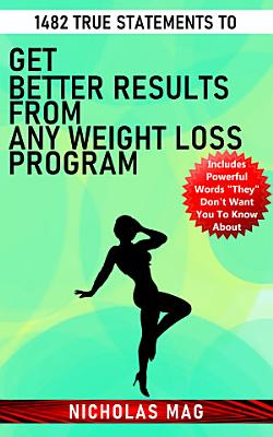 1482 True Statements to Get Better Results from Any Weight Loss Program