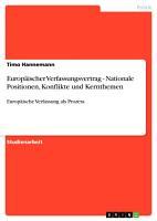 Europ  ischer Verfassungsvertrag   Nationale Positionen  Konflikte und Kernthemen PDF
