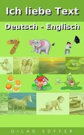 Ich liebe Text Deutsch - Englisch