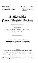 Haughton Parish Register