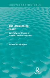 The Awakening Giant  Routledge Revivals  PDF