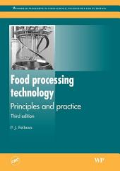 Food Processing Technology: Principles and Practice, Edition 3