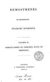 Demosthenes: Τόμος 9