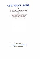 The Works of Leonard Merrick  A chair on the boulevard PDF