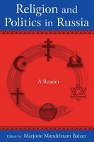 Religion and Politics in Russia  A Reader PDF