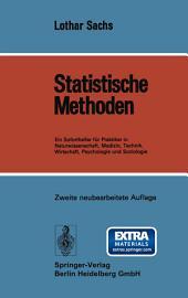 Statistische Methoden: Ein Soforthelfer für Praktiker in Naturwissenschaft, Medizin, Technik, Wirtschaft, Psychologie und Soziologie, Ausgabe 2