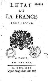 Etat de la France, contenant tous les princes, ducs et pairs... par Louis Trabouillet