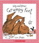 Lily and Bear Grumpy Feet