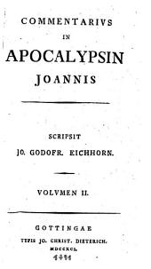 Commentarius in apocalypsin Joannis: Volume 2