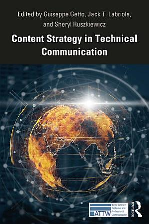 Content Strategy in Technical Communication PDF