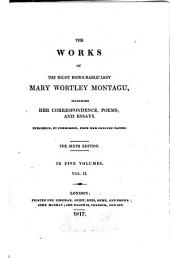 The Works: Letters during Mr. Wortley's embassy