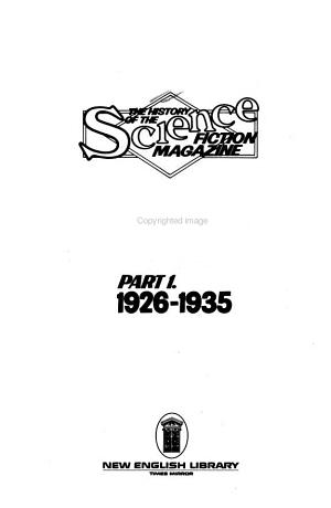 The History of the Science Fiction Magazine  1926 1935 PDF