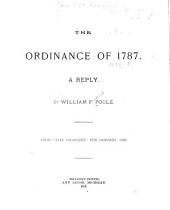 The Ordinance of 1787: A Reply