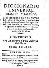 Diccionario universal, Frances, y Español, (etc.)
